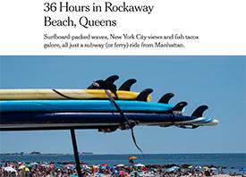 Surfing Rockaway